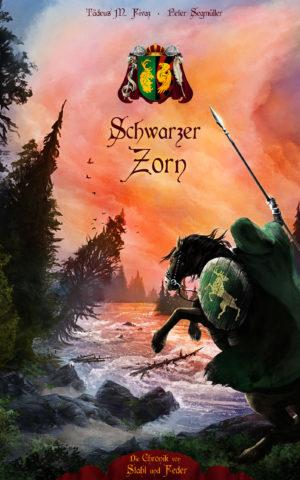 Cover: Schwarzer Zorn